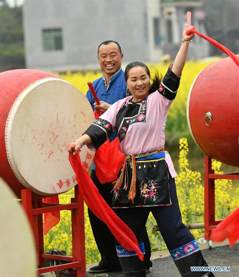 #CHINA-HUNAN-XIANGXI-PEACH FLOWER FAIR (CN)