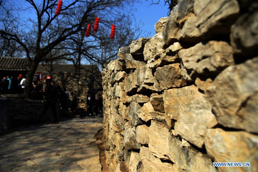 CHINA-SHANDONG-ZOUCHENG-STONE VILLAGE (CN)