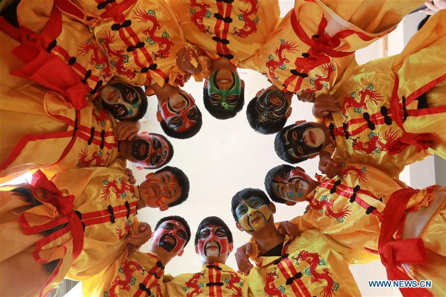 (SP)CHINA-GUIZHOU-JINPING-CULTURAL HERITAGE-DRAGON DANCE (CN)