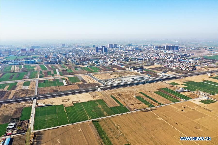 CHINA-XIONGAN NEW AREA-ANNIVERSARY-AERIAL VIEW (CN)