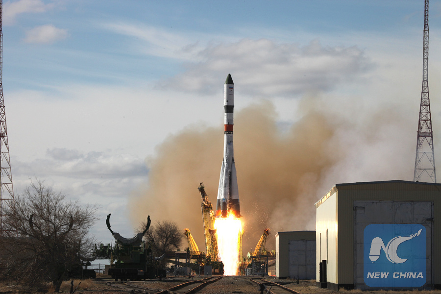Russia launches cargo ship to International Space Station