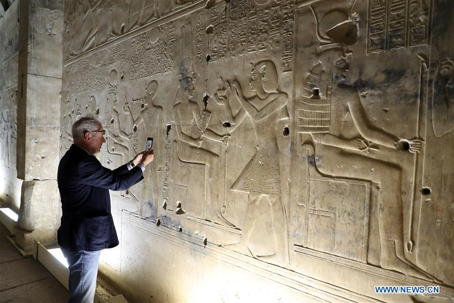 EGTIPT-SOHAG- SETI的三重寺庙I
