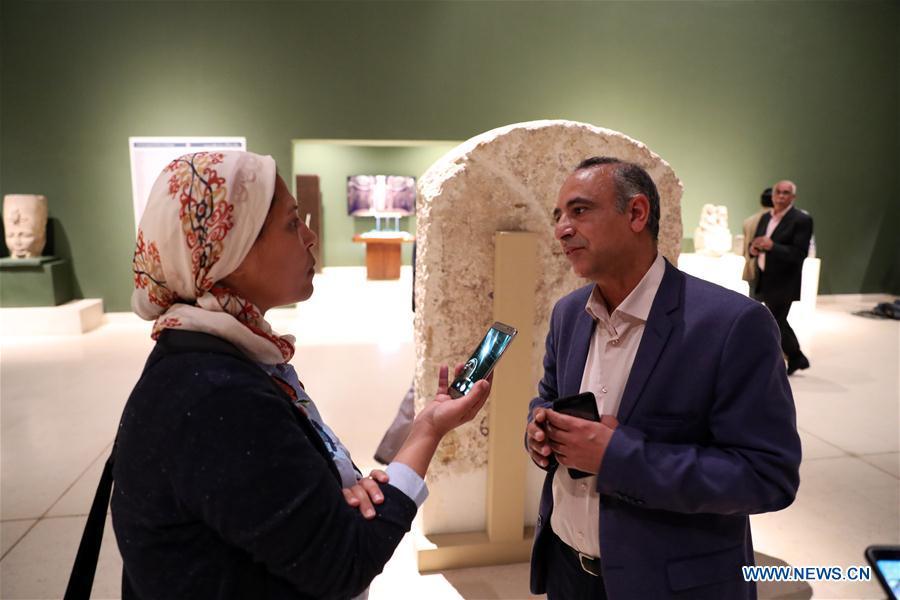 埃及 -  SOHAG-国家博物馆 - 访谈