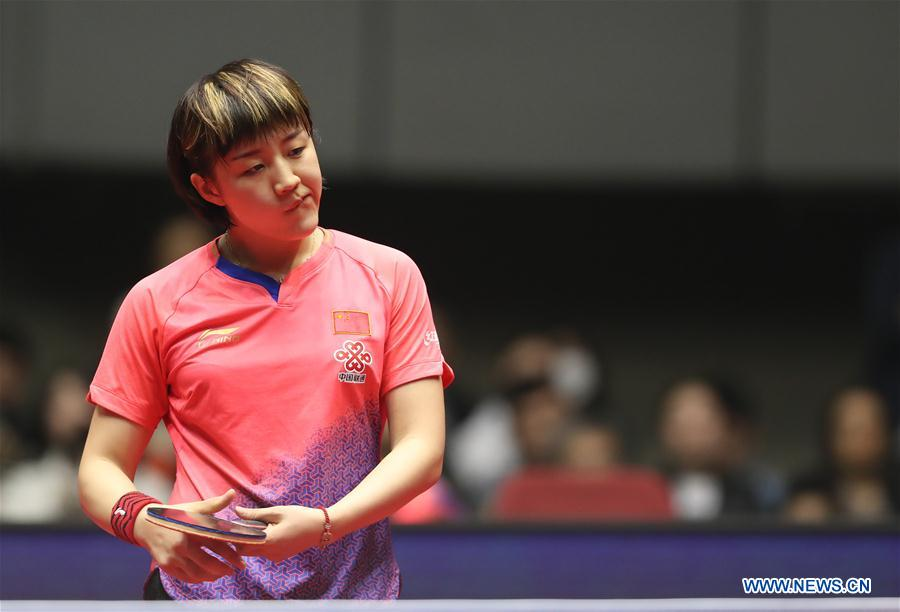 (SP)JAPAN-YOKOHAMA-TABLE TENNIS-ITTF-ATTU亚洲杯2019