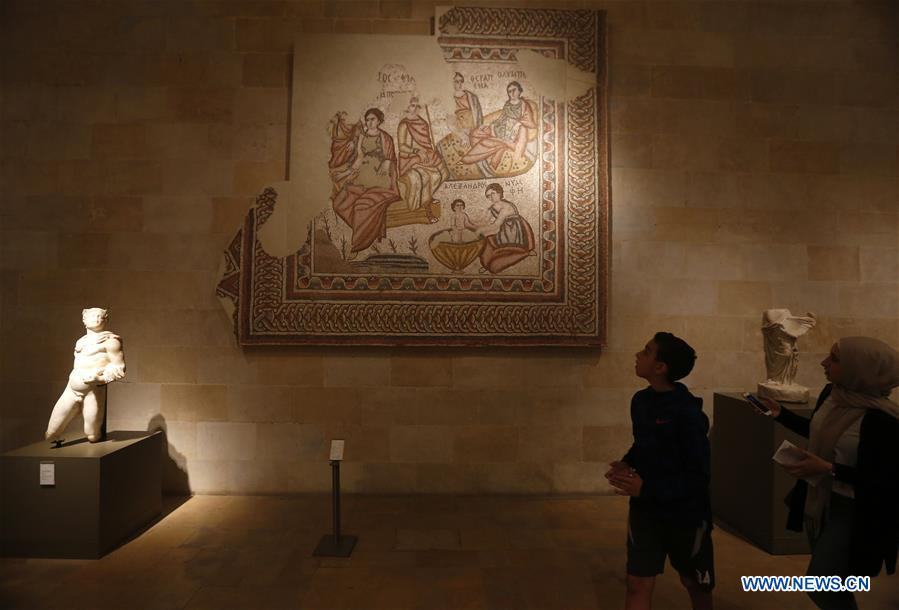 In pics: National Museum of Beirut in Lebanon - Xinhua