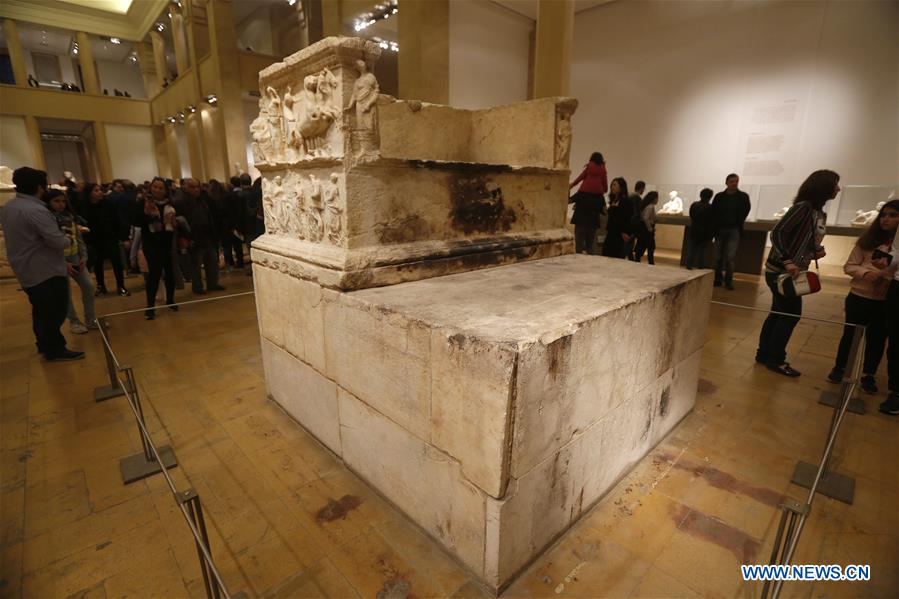 In pics: National Museum of Beirut in Lebanon - Xinhua | English news cn