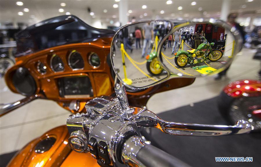 CANADA-TORONTO-SPRING MOTORCYCLE SHOW