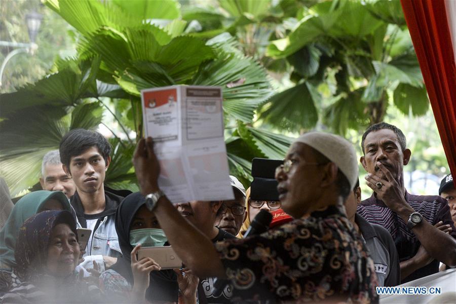 印尼雅加达选举仿真
