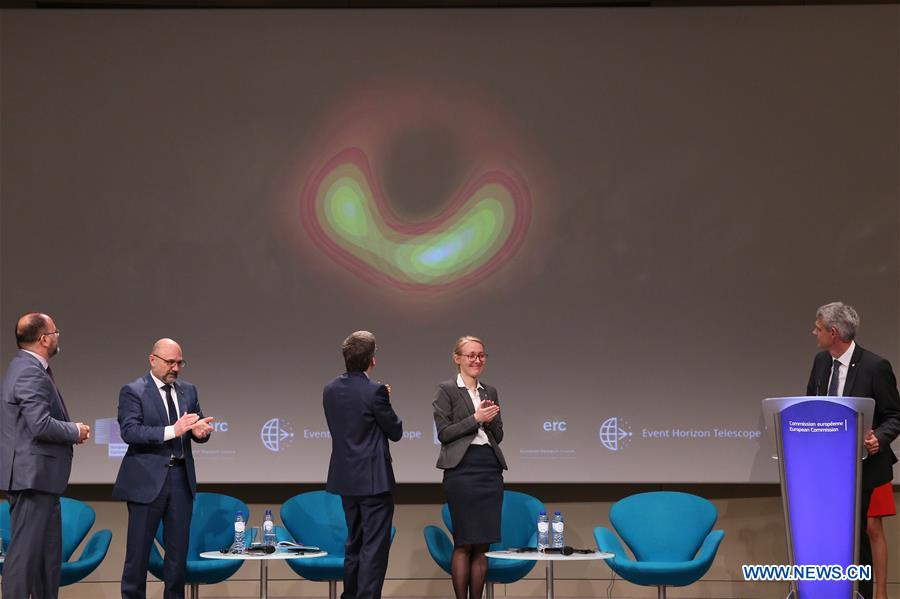 EU simultaneously unveils first ever image of black hole