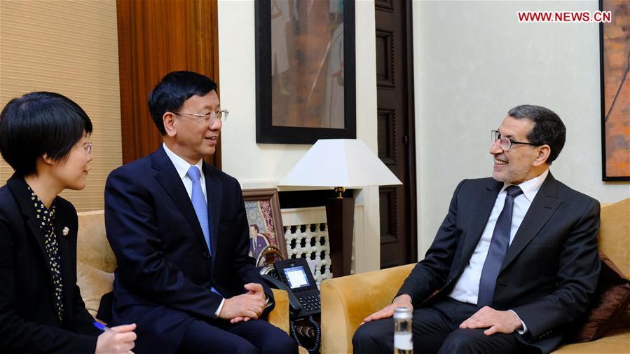 MOROCCO-RABAT-CHINA-CAO JIANMING-MEETING