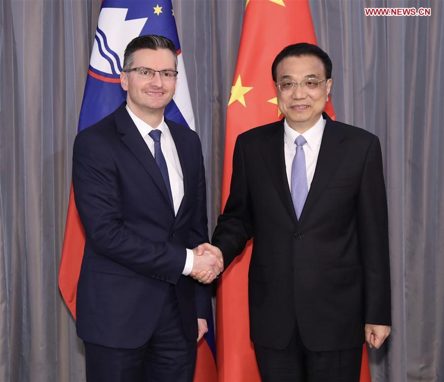 CROATIA-DUBROVNIK-CHINA-LI KEQIANG-SLOVENIAN PM-MEETING