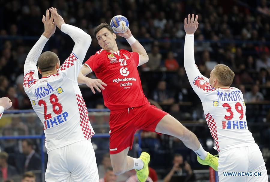 Serbia Croatia Draw In 2020 European Handball Qualifiers