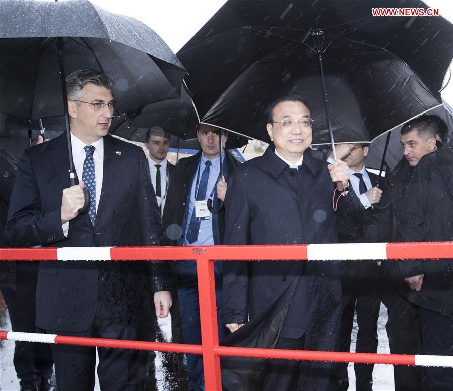 CROATIA-PELJESAC PENINSULA-CHINA-LI KEQIANG-PELJESAC BRIDGE PROJECT-VISIT