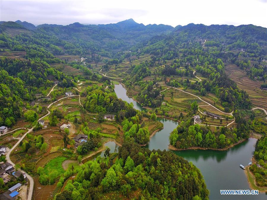 CHINA-GUIZHOU-MEITAN-SCENERY (CN)