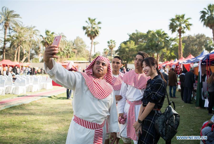 EGYPT-CAIRO-PHARAONIC VILLAGE-INT'L NATIONS FESTIVAL