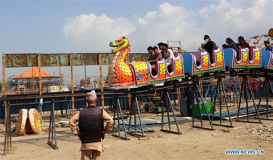 NEPAL-BHAKTAPUR-NEPALI新年 - 庆祝 - 公平