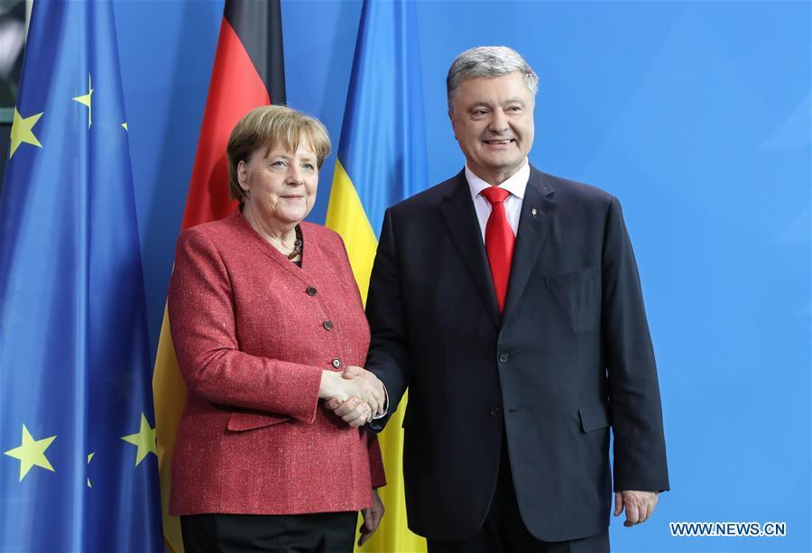 德国柏林的乌克兰总统-VISIT