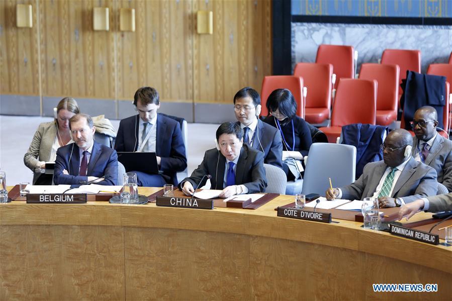 联合国安理会 - 哥伦比亚 - 中国环境