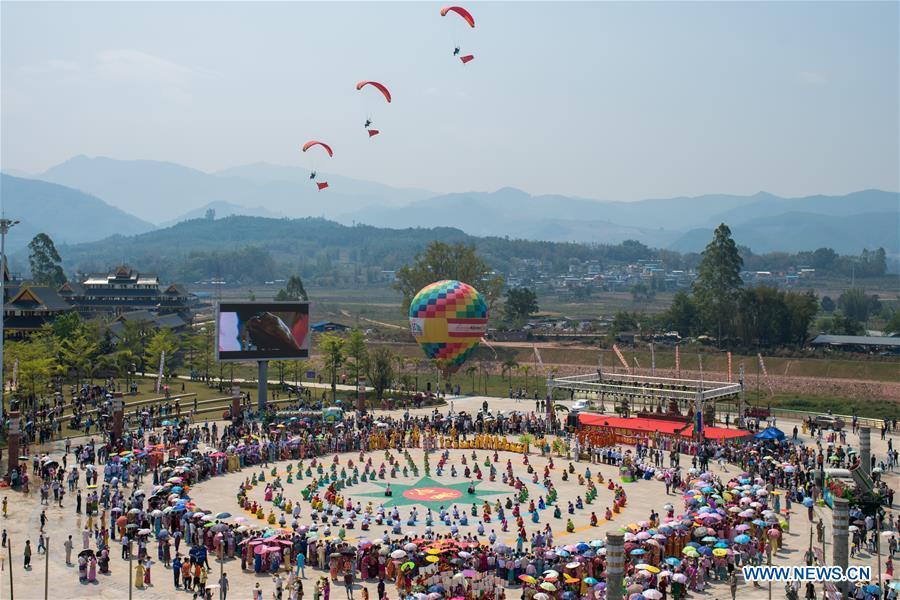 CHINA-YUNNAN-JINGGU-WATER SPLASHING FESTIVAL (CN)