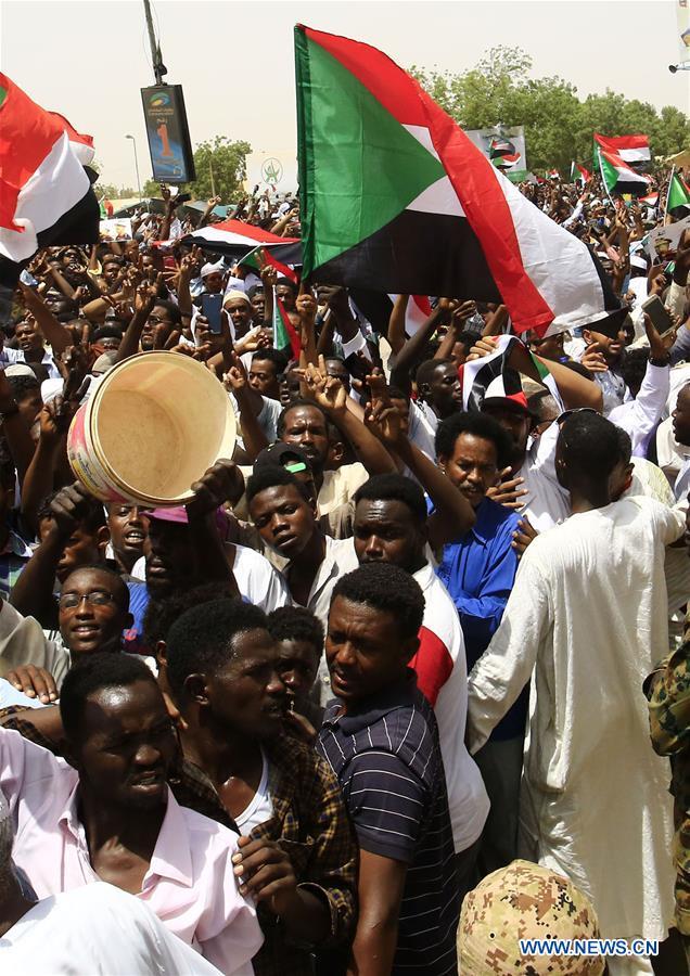 苏丹喀土穆抗议