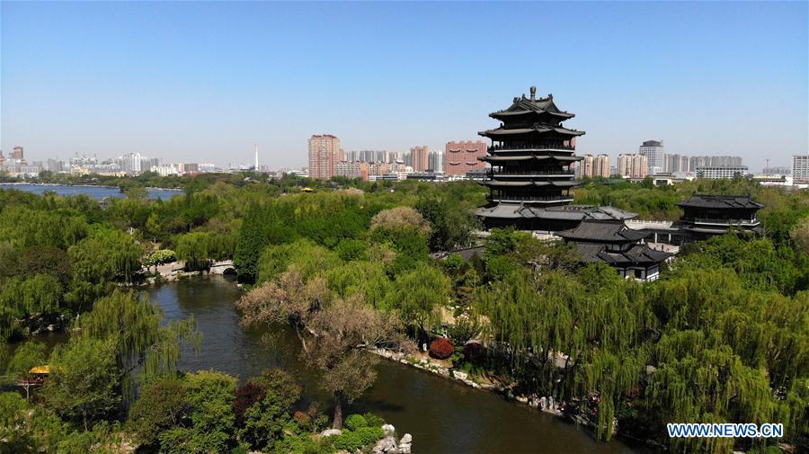 CHINA-SHANDONG-JINAN-DAMING LAKE-SCENERY (CN)