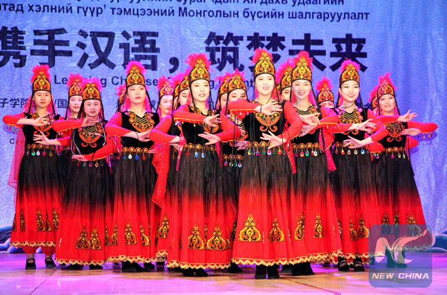 Final round of 12th Chinese Bridge language competition held in Mongolia