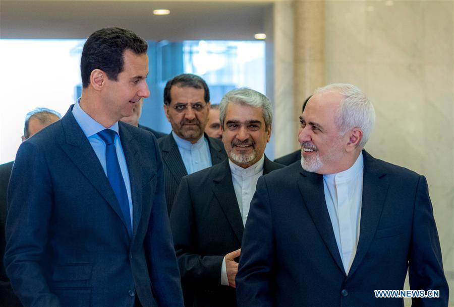 Iran FM visits Syria, Turkey to discuss ties - Xinhua