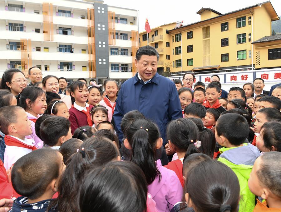 CHINA-CHONGQING-XI JINPING-INSPECTION-SYMPOSIUM (CN)