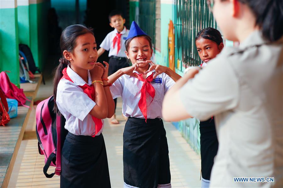 LAOS-VIENTIANE-CHINA-EDUCATION-VOLUNTEER TEACHERS