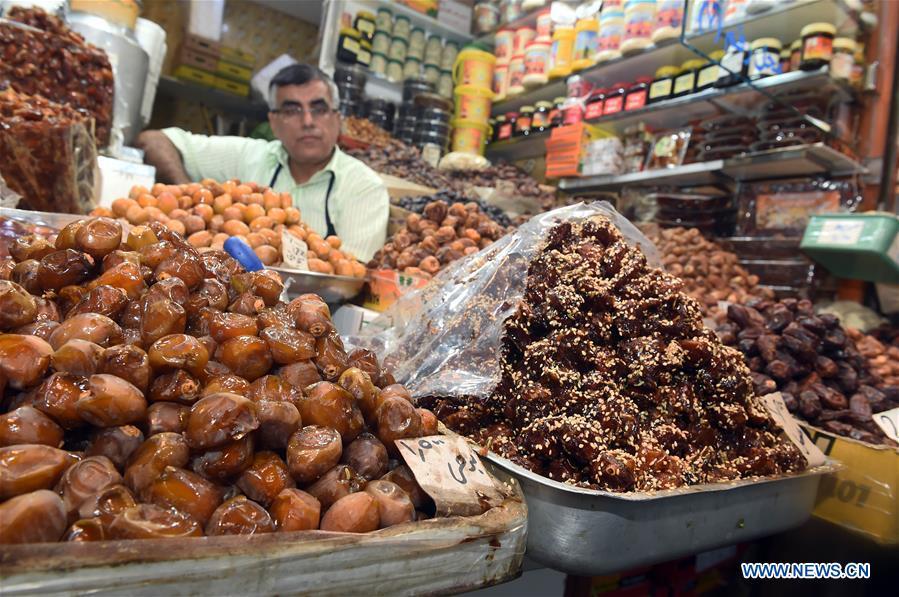 In pics: Al-Mubarakiya market in Kuwait City, Kuwait - Xinhua