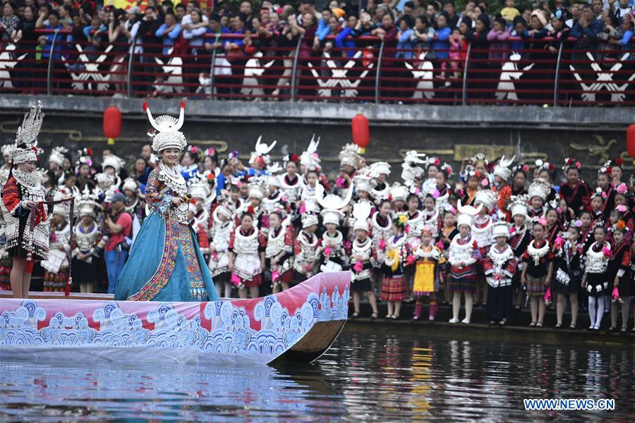 #CHINA-GUIZHOU-MIAO ETHNIC GROUP-SISTERS FESTIVAL(CN)