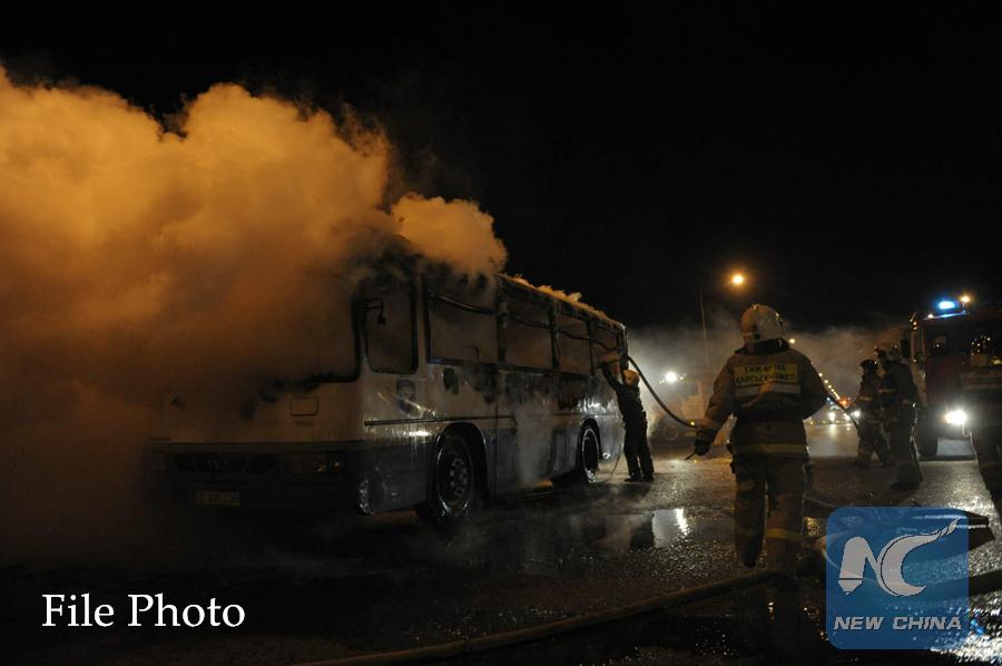 11 killed in bus accident in Kazakhstan