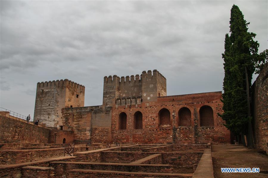 In pics: Alhambra Palace in Granada, Spain - Xinhua
