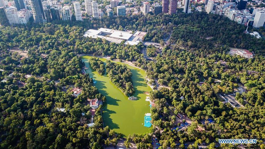Bosque De Chapultepec Park Cultural Center Of Mexico City Xinhua English News Cn