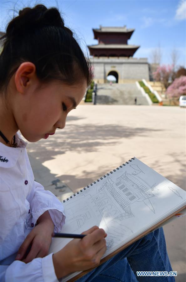 CHINA-SHAANXI-YAN'AN-SPRING-DAILY LIFE-LEISURE (CN)