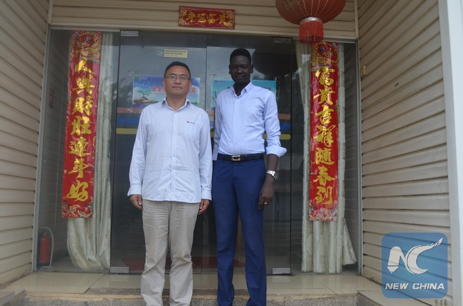 Feature: Chinese language transforms career of ex-South Sudanese child refugee