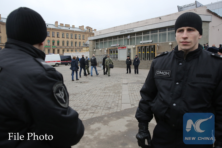 Russian security service detains 9 suspected terrorists