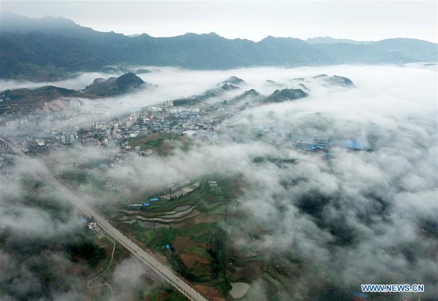 CHINA-GUIZHOU-DANZHAI-SCENERY (CN)