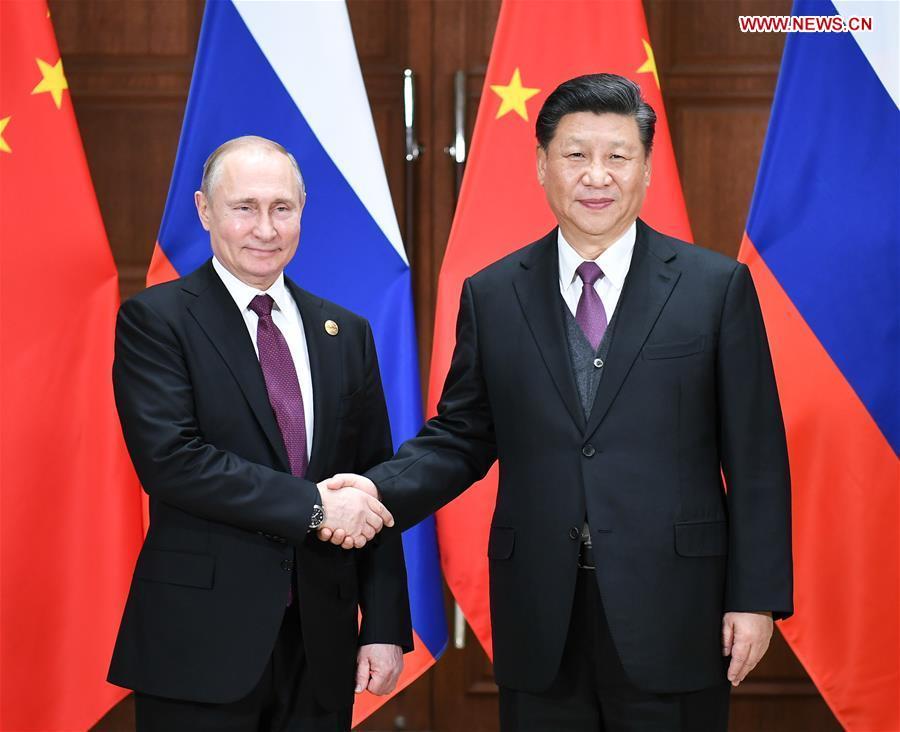 (BRF)CHINA-BEIJING-XI JINPING-RUSSIAN PRESIDENT-TALKS (CN)