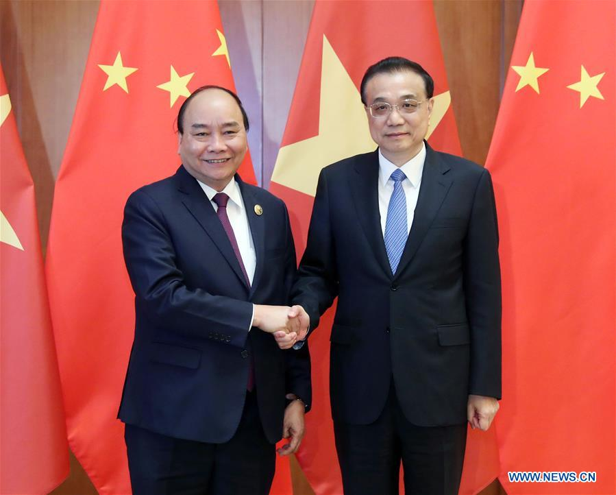(BRF)CHINA-BEIJING-LI KEQIANG-VIETNAMESE PM-MEETING(CN)