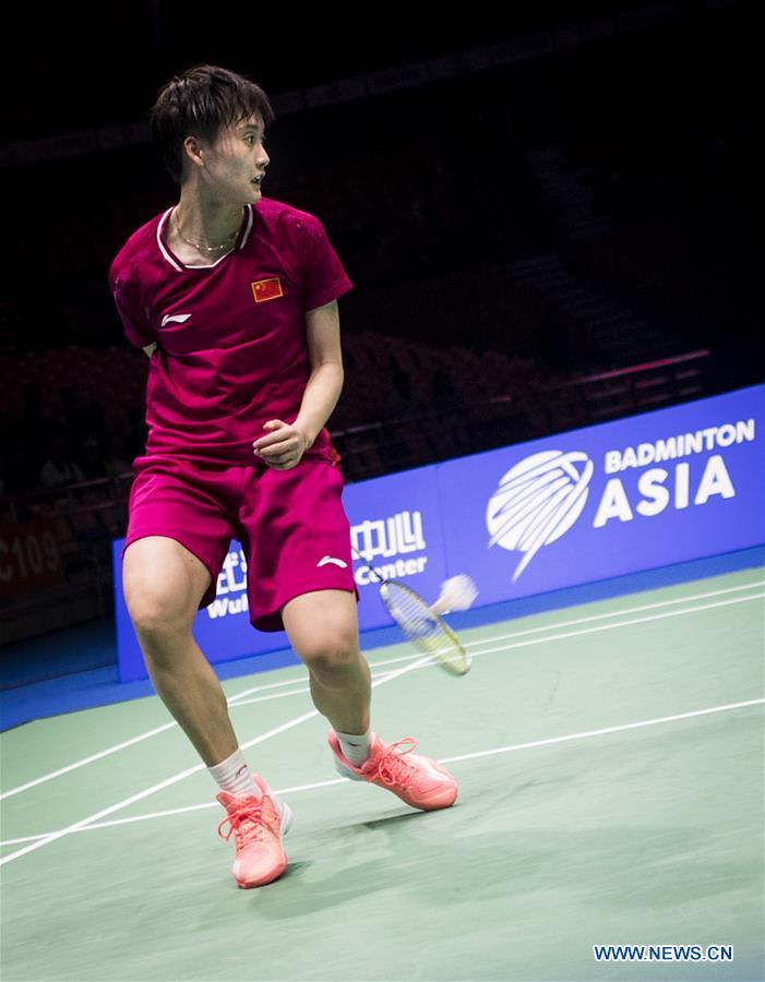 Chen Yufei loses 1-2 to Akane Yamaguchi at BWF Badminton