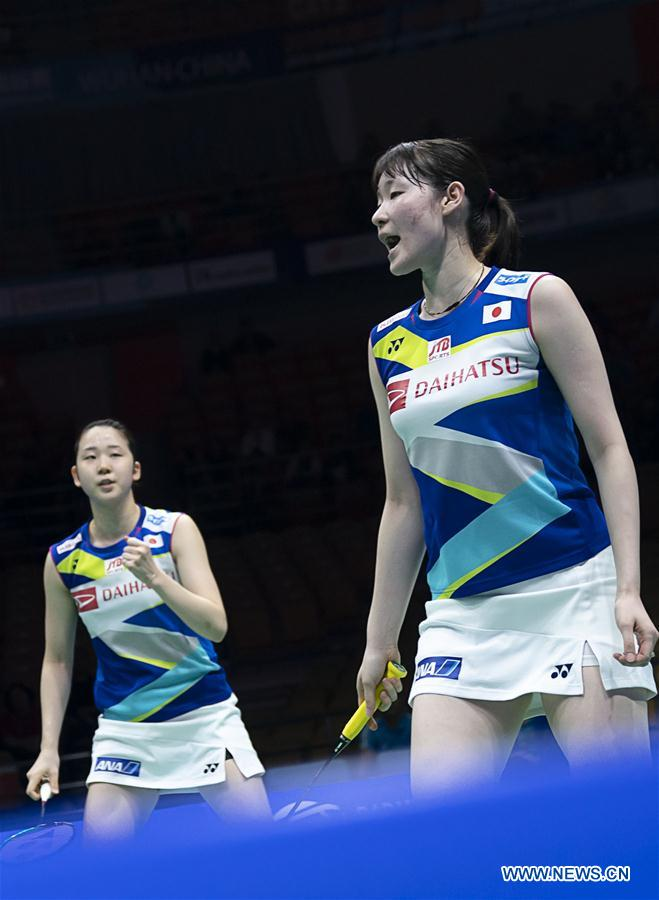 Highlights of women's doubles semifinal match at BWF