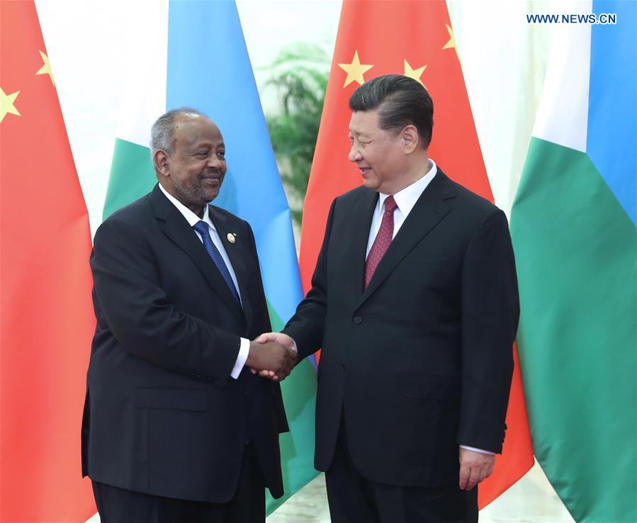 CHINA-BEIJING-XI JINPING-DJIBOUTIAN PRESIDENT-MEETING (CN)