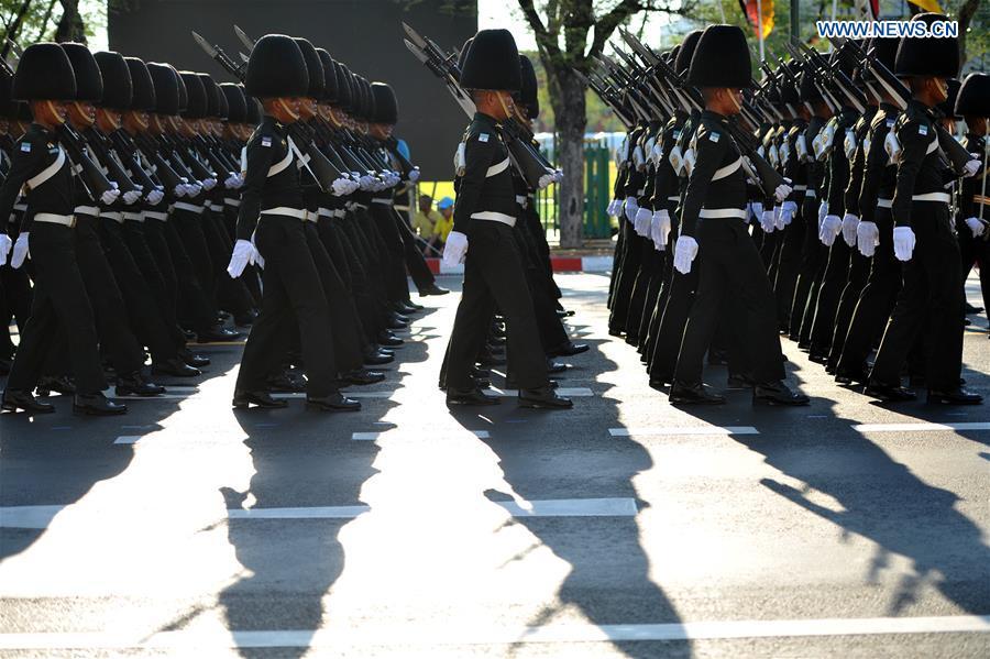 泰国 - 曼谷 - 加冕典礼 - 再生