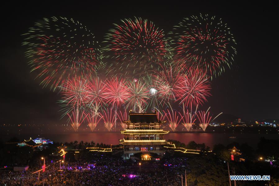 #CHINA-HUNAN-CHANGSHA-FIREWORKS (CN)