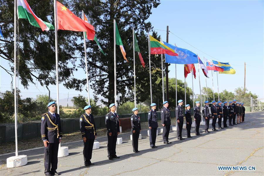 塞浦路斯尼科西亚-UN-警察奖牌发包