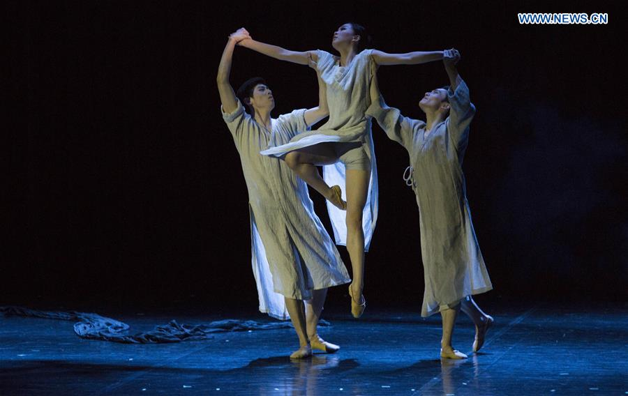 Dancers of Suzhou Ballet Theater Give First Performance in Riga