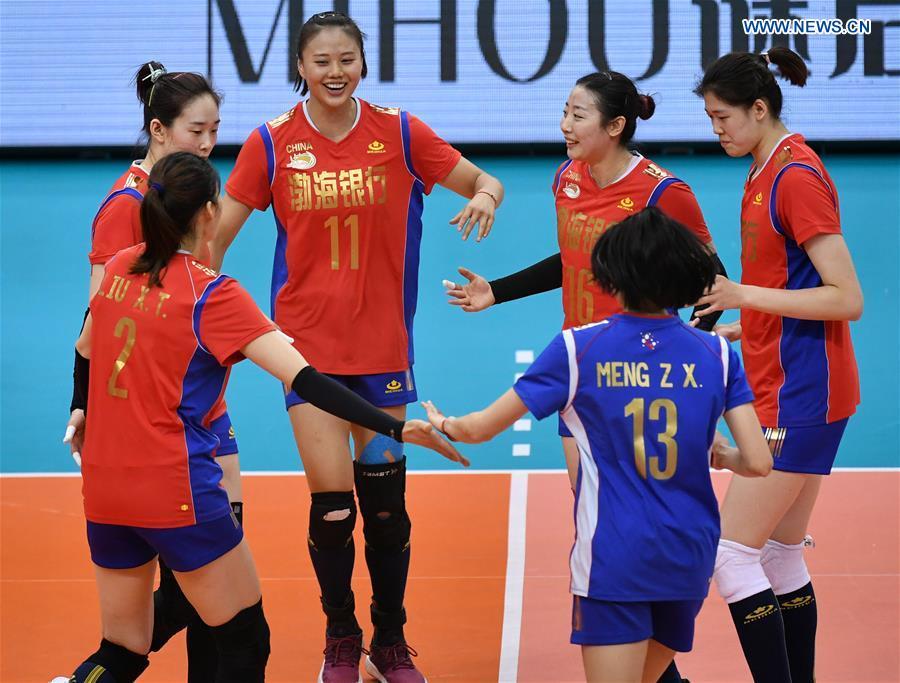 (SP)中国 - 天津 - 亚洲妇女俱乐部排球锦标赛(CN)