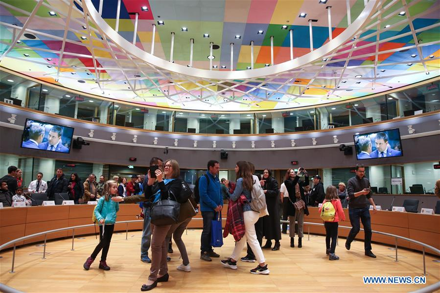 BELGIUM-BRUSSELS-EU-OPEN DAY
