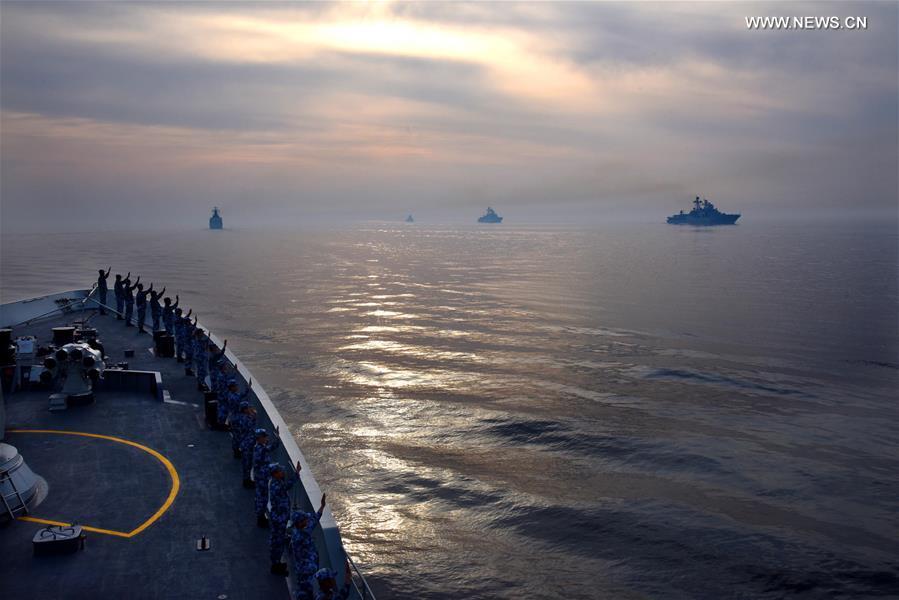 CHINA-QINGDAO-JOINT SEA-2019 (CN)